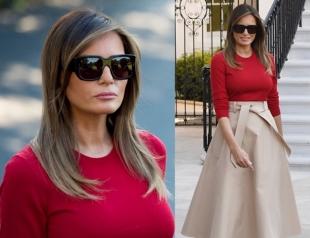 Истинная леди: Мелания Трамп получает комплименты из-за выбора наряда (ФОТО)