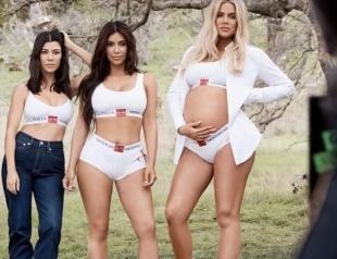 Сестры Кардашьян-Дженнер стали героинями осенней кампании Calvin Klein  (ФОТО)
