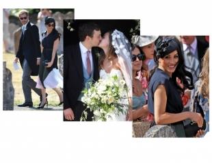 Стильная парочка: Меган Маркл и принц Гарри на свадьбе Чарли Ван Штраубензи и Дейзи Дженкс (ФОТО)