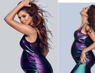 Нюша перед родами появилась на обложке журнала и рассказала о беременности (ФОТО)