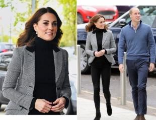 Новый выход Кейт Миддлтон и принца Уильяма: встреча в спортцентре Coach Core