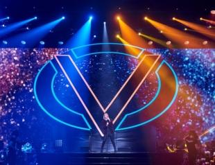 Как это было: Олег Винник выступил с сольным концертом во Дворце спорта