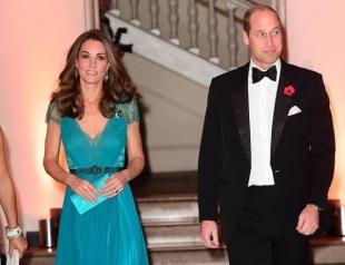 Принц Уильям и Кейт Миддлтон поддержали героев Африки на премии в Лондоне (ФОТО)