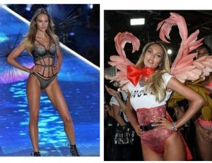 Кэндис Свейнпол впервые после родов вышла на подиум Victoria's Secret (ФОТО)