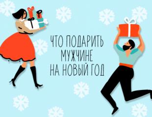 Что подарить мужчине на Новый год 2019: 50 подарков на любой бюджет