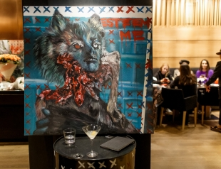 В Киеве открылась выставка художницы Wolkovinscaa: как это было (ФОТО)