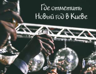 Где отметить Новый год 2019 в Киеве: 5 вариантов празднования