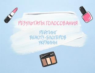 Рейтинг beauty-блогеров Украины: результаты голосования