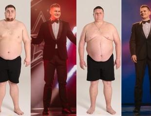 "Победители шоу ""Зважені та щасливі"" скинули 144 кг на двоих: фото участников до и после проекта"