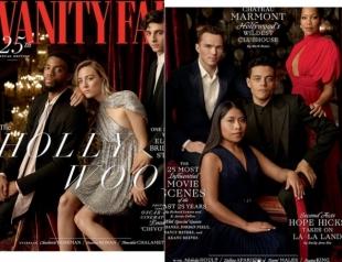 """Вышла традиционная обложка Vanity Fair перед """"Оскаром"""": позируют Сирша Ронан, Тимоти Шаламе, Рами Малек и другие"""
