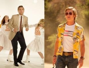"""Брэд Питт и Леонардо Ди Каприо из 60-х: появились первые кадры фильма """"Однажды в Голливуде"""""""