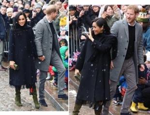 Новый выход Меган Маркл и принца Гарри: герцоги Сассекские приехали в Бристоль (ФОТО+ВИДЕО)