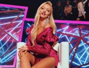 Оля Полякова впечатлила смелым образом на съемках телешоу (ГОЛОСОВАНИЕ)