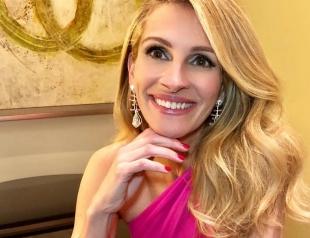 """Джулия Робертс в новом интервью: о продолжении фильма """"Красотка"""" и сходстве с Меган Маркл"""