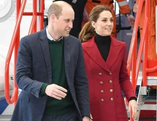 Кейт Миддлтон и принц Уильям посетили Северный Уэльс (ФОТО)