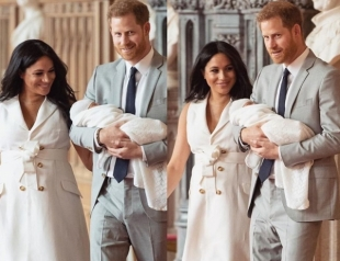 Меган Маркл и принц Гарри обнародовали имя новорожденного сына (ФОТО)