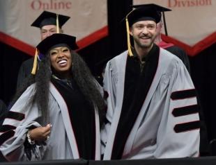 Теперь официально: Джастин Тимберлейк и Мисси Эллиот стали докторами наук