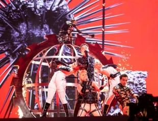 """Самый эпатажный номер на """"Евровидении-2019"""": выступление представителей Исландии """"Hatari"""" (ГОЛОСОВАНИЕ)"""