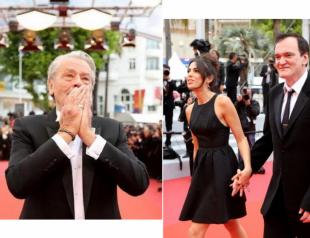 Дайджест новостей из Канн: награда Алену Делону, появление Тарантино с женой и выход двух легенд кино