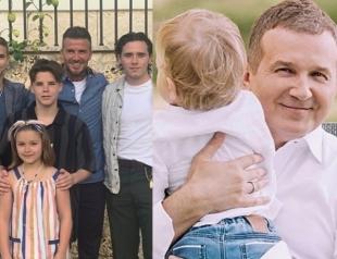 Виктория Бекхэм, Катя Осадчая, принц Уильям и другие: как звезды отметили День отца