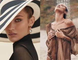 Белла Хадид в модной фотосессии перевоплотилась в парижанку (ФОТО)