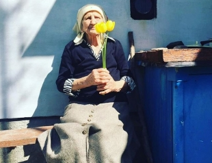 93-летняя бабушка попала в Книгу Рекордов Украины и стала звездой Instagram