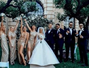 Дорого-богато: Алина Гросу рассказала, во сколько обошлась её свадьба