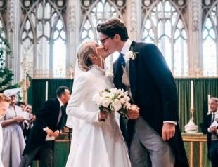 Как экс-девушка принца Гарри отпраздновала свадьбу? (ФОТО)