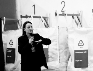 """Смещение фокуса потребления: как прошла лекция на сортировочной станции """"Україна без сміття"""""""