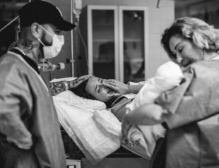 Мама Тимати показала интимные кадры с родов Анастасии Решетовой