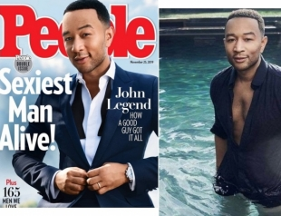 Журнал People назвал Джона Ледженда самым сексуальным мужчиной года