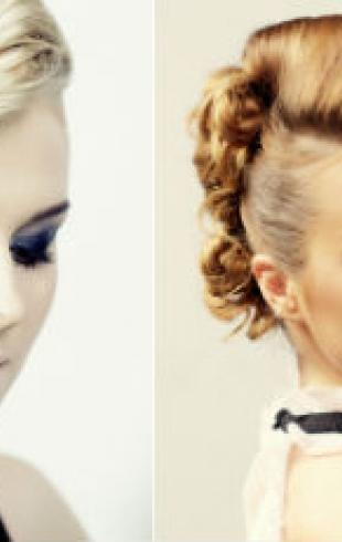 Прически ко Дню Валентина: Fashion Coctails