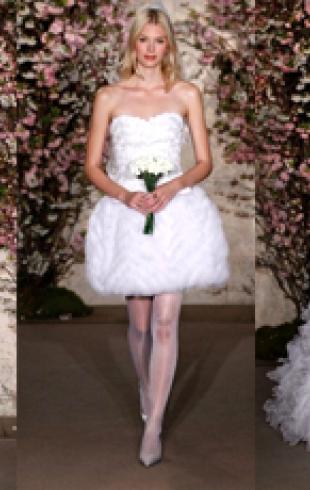 Свадебные платья Oscar de la Renta весна 2012