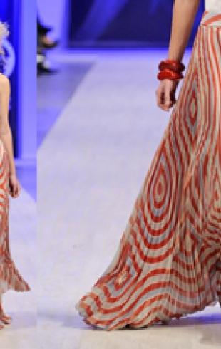 Плиссированная юбка от Елены Голец