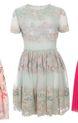 Топ 30 платьев для подружки невесты - 2012