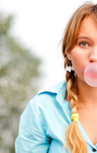 Жевательная резинка ухудшает память