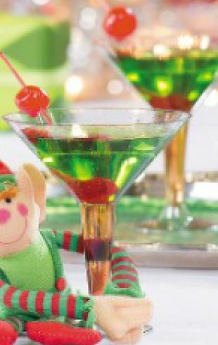 """Рождественский напиток: коктейль """"Эльф"""""""