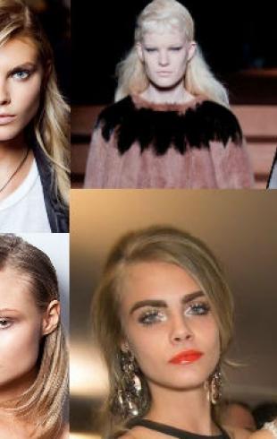 Модные прически: тренды-2013