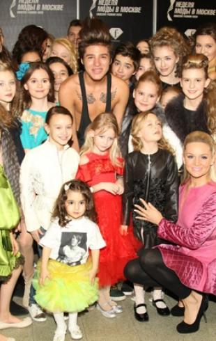 Неделя моды в Москве: показ РОМА ЖЕЛУДЬ & STARS