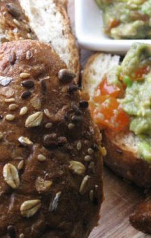 Постная закуска с авокадо