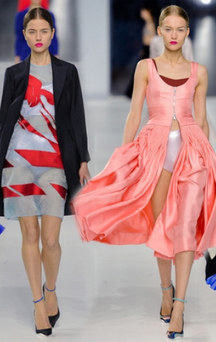 Раф Симонс представил коллекцию Christian Dior resort 2014