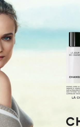 Диана Крюгер появилась в промокампании Chanel Beauty