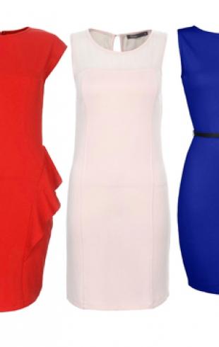 Модные платья осени 2013