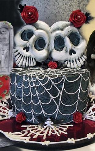 Самые оригинальные торты на Хэллоуин 2013