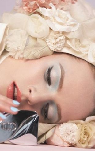 Бренд Dior представил коллекцию макияжа сезона весна-2014