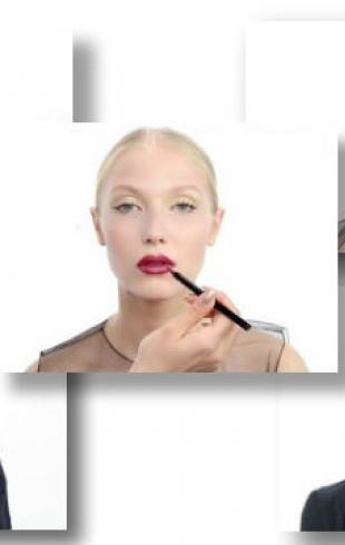 Новогодний макияж от Dior: видеоурок