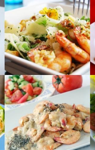 Новогодние салаты 2014 с фото: салаты с креветками