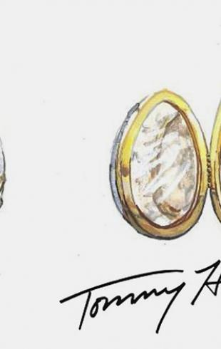 Известные дизайнеры создали свои версии яиц Фаберже