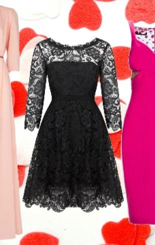 Романтичные платья на День святого Валентина: что, где, почем