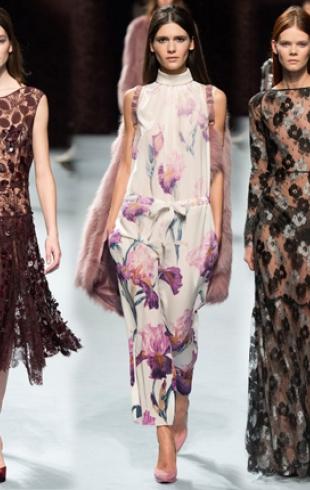 Неделя моды в Париже: Nina Ricci осень-зима 2014-2015